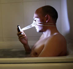 nose_texting